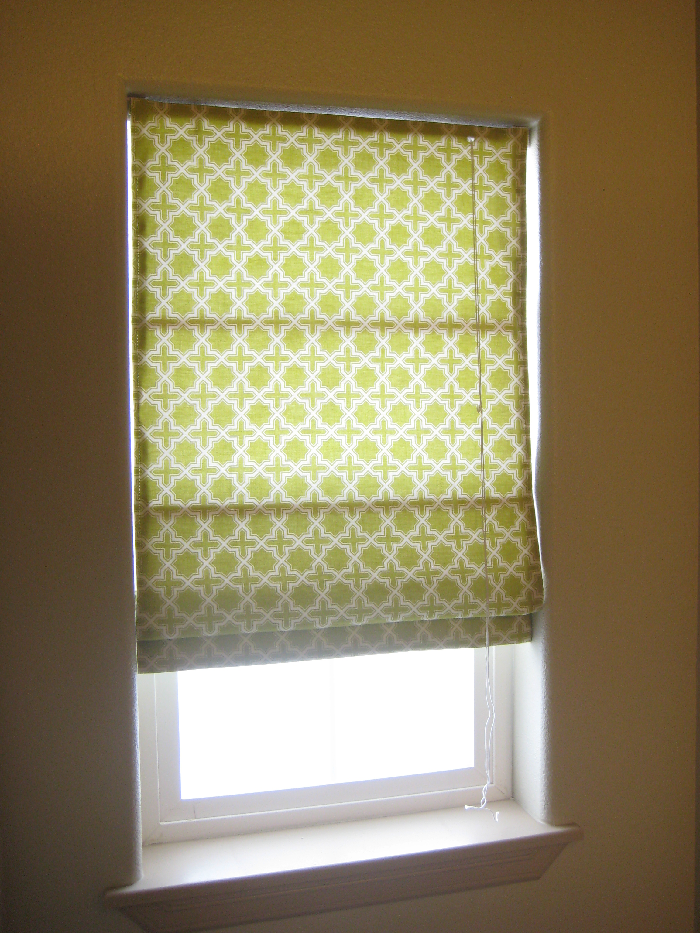 Roman Shades On The Cheap Twsst