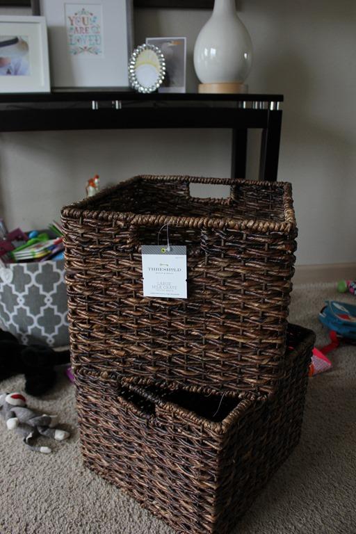 IMG_6003 & target hack: DIY Rolling baskets | TWSST
